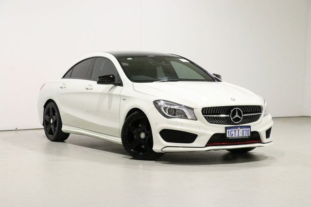 Used Mercedes-Benz CLA250 117 MY15 4Matic, 2014 Mercedes-Benz CLA250 117 MY15 4Matic White 7 Speed Automatic Coupe