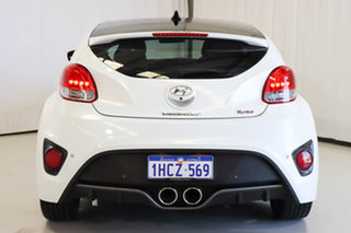 2013 Hyundai Veloster FS2 SR Coupe Turbo White 6 Speed Manual Hatchback