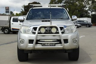 2011 Toyota Hilux KUN26R MY12 SR5 Double Cab Silver 4 Speed Automatic Utility