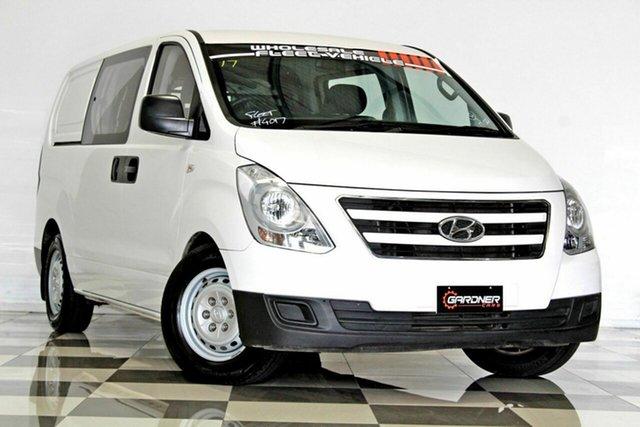 Used Hyundai iLOAD TQ Series II (TQ3) MY1 6S Twin Swing, 2017 Hyundai iLOAD TQ Series II (TQ3) MY1 6S Twin Swing White 5 Speed Automatic Crew Van