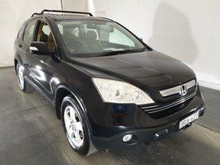 2007 Honda CR-V RE MY2007 Sport 4WD Black 6 Speed Manual Wagon.