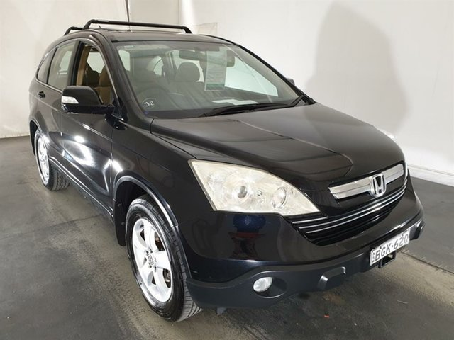Used Honda CR-V RE MY2007 Sport 4WD, 2007 Honda CR-V RE MY2007 Sport 4WD Black 6 Speed Manual Wagon