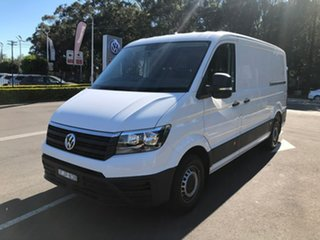 2019 Volkswagen Crafter SY1 MY19 35 MWB FWD TDI410 White 8 Speed Automatic Van