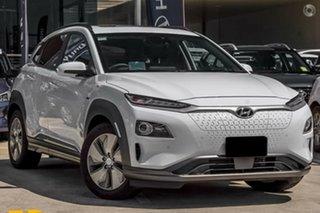 2020 Hyundai Kona OSEV.2 MY20 electric Highlander Chalk White 1 Speed Reduction Gear Wagon.