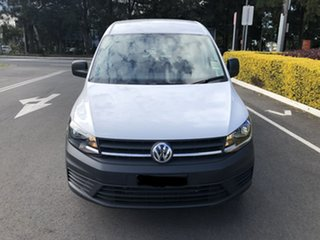 2020 Volkswagen Caddy 2KN MY20 TSI220 Maxi DSG White 7 Speed Sports Automatic Dual Clutch Van.