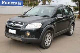 2010 Holden Captiva CG MY10 LX (4x4) Black 5 Speed Automatic Wagon.