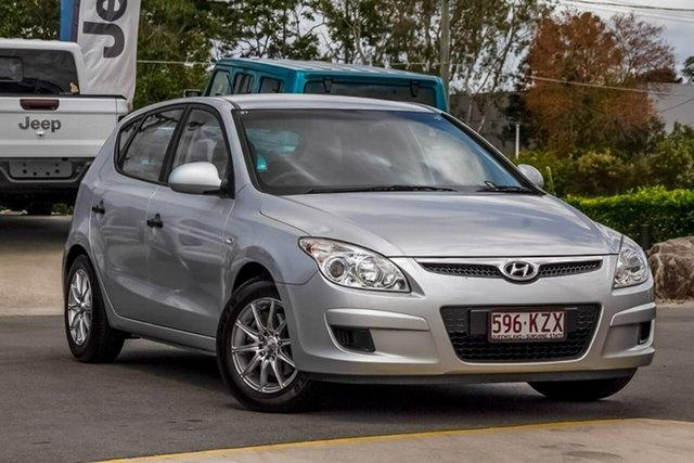 Used Hyundai i30 FD SX Aspley, 2007 Hyundai i30 FD SX Silver 5 Speed Manual Hatchback