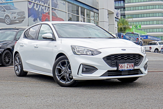 Used Ford Focus SA 2019.75MY ST-Line, 2019 Ford Focus SA 2019.75MY ST-Line White 8 Speed Automatic Hatchback