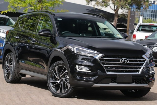 New Hyundai Tucson TL3 MY20 Highlander (AWD) Black INT, 2020 Hyundai Tucson TL3 MY20 Highlander (AWD) Black INT Phantom Black 8 Speed Automatic Wagon