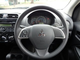 2019 Mitsubishi Mirage LA MY20 ES Blue 1 Speed Constant Variable Hatchback