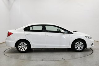 2013 Honda Civic 9th Gen Ser II VTi White 5 Speed Sports Automatic Sedan