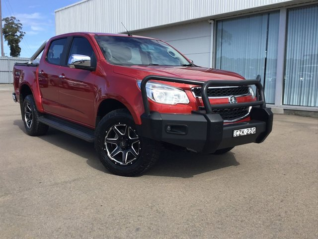 Used Holden Colorado RG MY16 LTZ Crew Cab, 2015 Holden Colorado RG MY16 LTZ Crew Cab Red 6 Speed Sports Automatic Utility