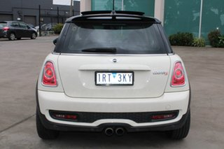2011 Mini Cooper R56 MY11 S White 6 Speed Manual Hatchback
