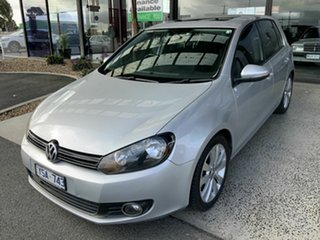 2011 Volkswagen Golf 1K MY11 118 TSI Comfortline Silver 7 Speed Auto Direct Shift Hatchback