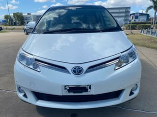 2015 Toyota Tarago GSR50R MY13 Ultima White 6 Speed Sports Automatic Wagon
