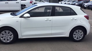 2019 Kia Rio YB MY19 S White 4 Speed Sports Automatic Hatchback