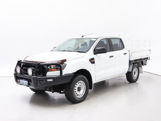 2017 Ford Ranger PX MkII MY17 XL 3.2 (4x4) White 6 Speed Automatic Cab Chassis.