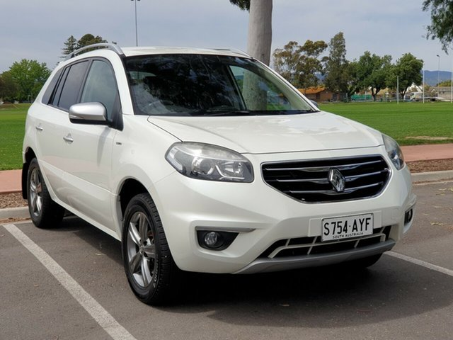 Used Renault Koleos H45 Phase II Bose Special Edition, 2013 Renault Koleos H45 Phase II Bose Special Edition White 1 Speed Constant Variable Wagon