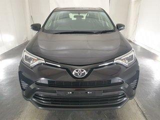 2015 Toyota RAV4 ASA44R GX AWD Black 6 Speed Sports Automatic Wagon.