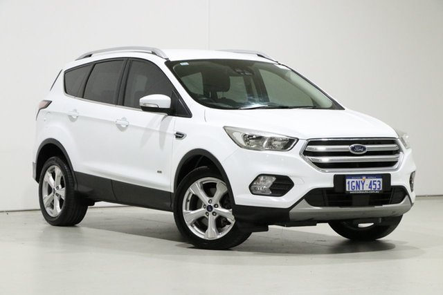 Used Ford Escape ZG MY18 Trend (AWD), 2018 Ford Escape ZG MY18 Trend (AWD) White 6 Speed Automatic SUV