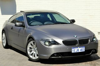 2004 BMW 6 Series E63 645ci Steptronic Blue 6 Speed Sports Automatic Coupe.