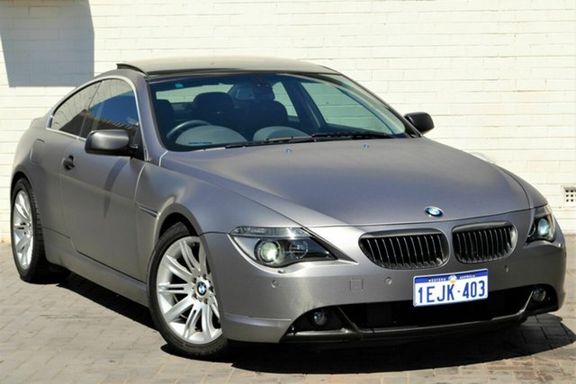 Used BMW 6 Series E63 645ci Steptronic, 2004 BMW 6 Series E63 645ci Steptronic Blue 6 Speed Sports Automatic Coupe