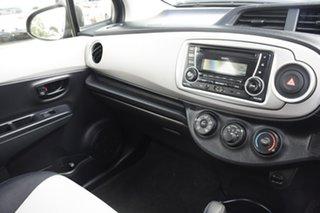 2012 Toyota Yaris NCP130R YR Blue 4 Speed Automatic Hatchback