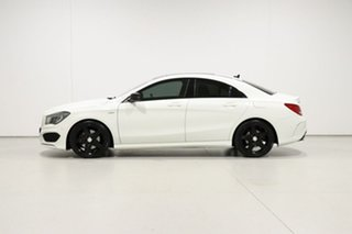 2014 Mercedes-Benz CLA250 117 MY15 4Matic White 7 Speed Automatic Coupe