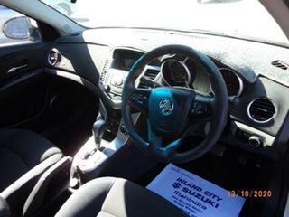 2011 Holden Cruze JG CD Heron White 6 Speed Automatic Sedan