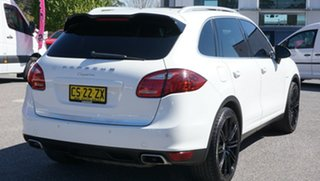 2012 Porsche Cayenne 92A MY13 Diesel Tiptronic White 8 Speed Sports Automatic Wagon