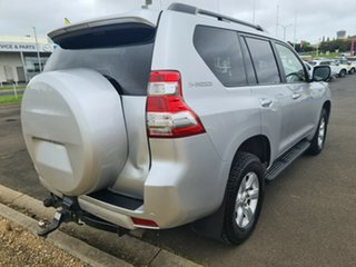 2014 Toyota Landcruiser Prado KDJ150R MY14 GXL Classic Silver 5 Speed Sports Automatic Wagon