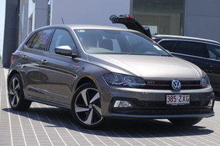 2020 Volkswagen Polo AW MY20 GTI DSG Limestone Grey 6 Speed Sports Automatic Dual Clutch Hatchback.