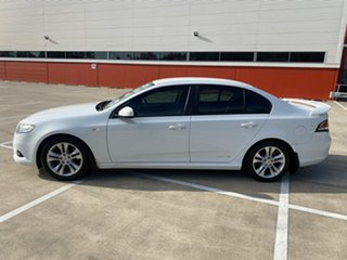 2008 Ford Falcon FG XR6 White 5 Speed Auto Seq Sportshift Sedan