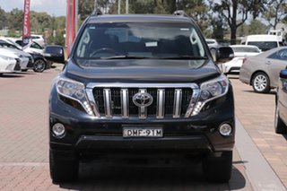 2017 Toyota Landcruiser Prado GDJ150R Kakadu Black 6 Speed Sports Automatic SUV