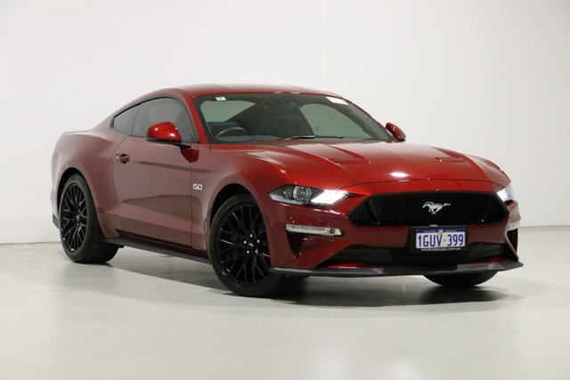 Used Ford Mustang FN Fastback GT 5.0 V8, 2019 Ford Mustang FN Fastback GT 5.0 V8 Red 10 Speed Automatic Coupe