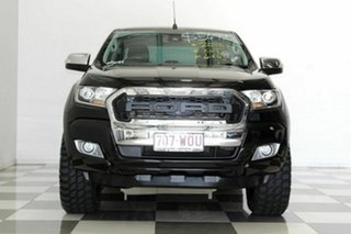 2016 Ford Ranger PX MkII MY17 XLT 3.2 (4x4) Black 6 Speed Automatic Double Cab Pick Up