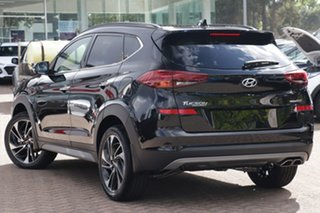 2020 Hyundai Tucson TL3 MY21 Highlander AWD Phantom Black 8 Speed Sports Automatic Wagon.
