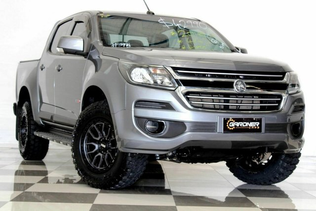 Used Holden Colorado RG MY18 LS (4x4), 2018 Holden Colorado RG MY18 LS (4x4) Grey 6 Speed Automatic Crew Cab Pickup