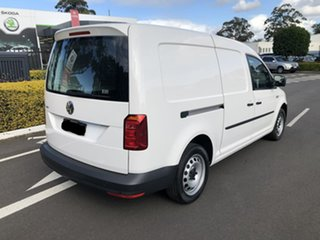 2020 Volkswagen Caddy 2KN MY20 TSI220 Maxi DSG White 7 Speed Sports Automatic Dual Clutch Van