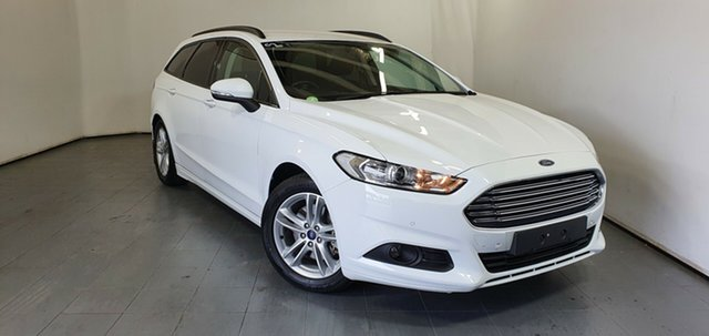 Used Ford Mondeo MD Ambiente Elizabeth, 2016 Ford Mondeo MD Ambiente White 6 Speed Sports Automatic Wagon