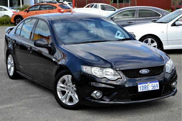 Used Ford Falcon FG MkII XR6, 2011 Ford Falcon FG MkII XR6 Black 6 Speed Sports Automatic Sedan