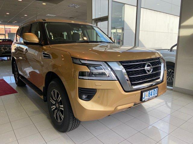 Demo Nissan Patrol Y62 Series 5 MY20 TI, 2020 Nissan Patrol Y62 Series 5 MY20 TI Galaxy Gold 7 Speed Sports Automatic Wagon