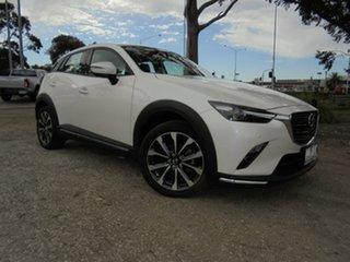 2019 Mazda CX-3 DK2W7A sTouring SKYACTIV-Drive FWD White 6 Speed Sports Automatic Wagon.