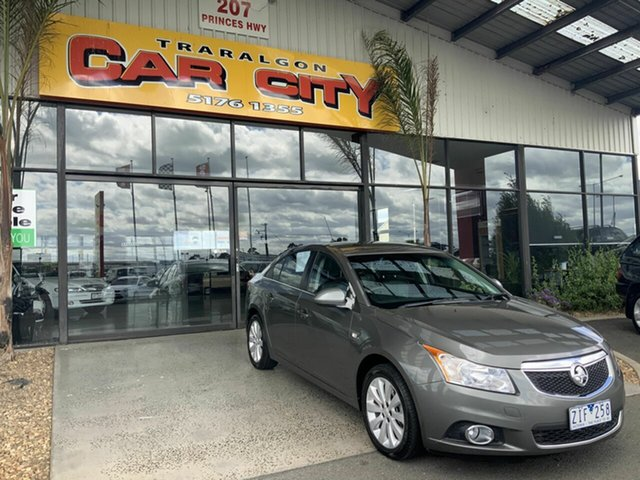 Used Holden Cruze JH MY12 CDX Traralgon, 2012 Holden Cruze JH MY12 CDX Silver 6 Speed Automatic Sedan