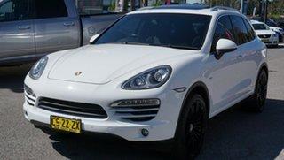 2012 Porsche Cayenne 92A MY13 Diesel Tiptronic White 8 Speed Sports Automatic Wagon