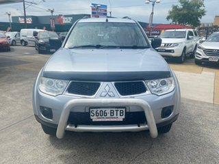 2012 Mitsubishi Challenger PB (KG) MY12 Silver 5 Speed Sports Automatic Wagon.