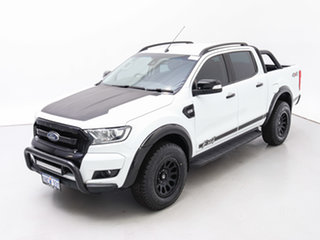 2017 Ford Ranger PX MkII MY18 FX4 Special Edition White 6 Speed Automatic Double Cab Pick Up