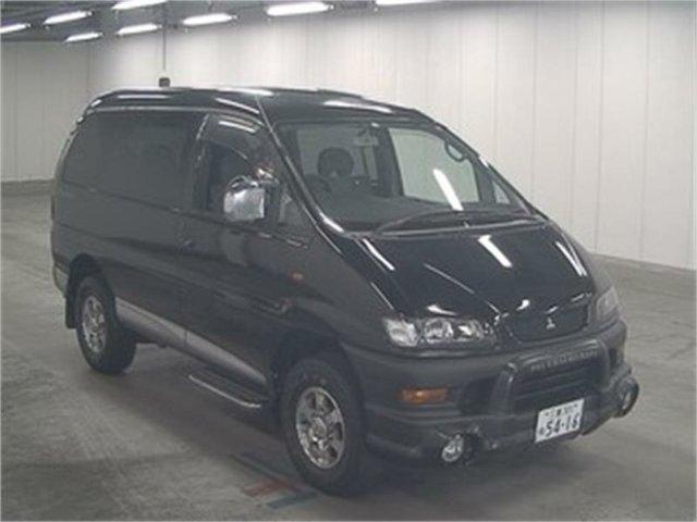Used Mitsubishi Delica Leichhardt, 2004 Mitsubishi Delica PD6W Spacegear Black Automatic Van Wagon