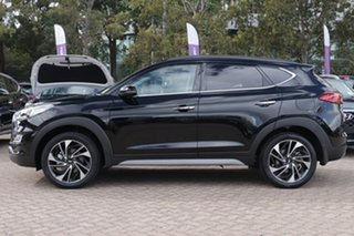 2020 Hyundai Tucson TL3 MY21 Highlander AWD Phantom Black 8 Speed Sports Automatic Wagon