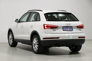 2018 Audi Q3 8U MY18 1.4 TFSI (110kW) White 6 Speed Automatic Wagon